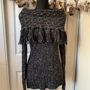 KENZI fringe sweater